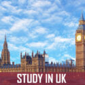 Study In UK Expenses